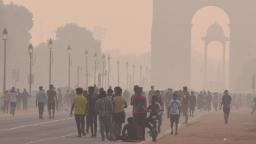 India is facing two major health threats this winter: pollution and the pandemic